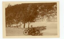 PHOTO Snapshot BERTHE SIDE CARS  course moto ancienne 1930