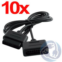 Lot 10x Controller Extension Cable for Original Super Nintendo SNES Game Pad 6ft