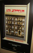 Led Zeppelin Physical Graffiti Remastered Original Ds Promo Print Very Cool