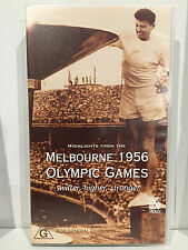 HIGHLIGHTS FROM THE MELBOURNE 1956 OLYMPIC GAMES ~ 100 MINUTES ~AS NEW VHS VIDEO