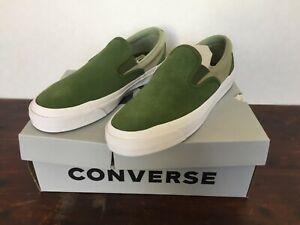 Converse One Star CC Pro Slip Cons Low Cypress Green/ Street Sage size 9.5 Mens