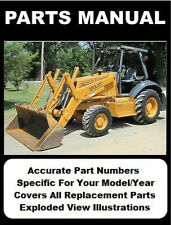 Case 570 Lxt 580l Constr King Loader Backhoe Amp Series 2 Parts Manual Cd