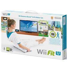 New Nintendo Wii U Wii Fit U Wii Balance Board w/ Wii Fit U Game & Fit Meter