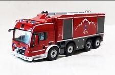 1:43 MAN Tunnel fire Truck Die Cast Model