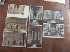 x7 postcard - Lichfield cathedral - Staffordshire