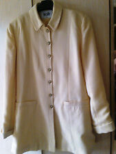 WALLIS LADIES LEMON LINED SUITE JACKET SIZE 12