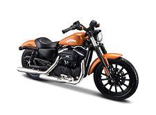 Harley Davidson 2014 Sportster de Fer 883 orange Maßstab 1:18 de maisto