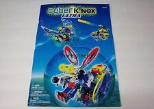 Knex Instruction Manual Only #63007 Cyber K'nex Ultra Instructions Book