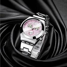 Superbe Montre de Luxe Quartz Japonais Femme LONGBO Classique Bracelet Métal