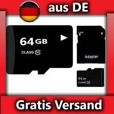 Micro SD Speicherkarte 64 GB * BLITZVERSAND* Memorycard - Handy,Tablet,Camera