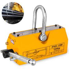 1500Kg Permanent Magnetic Lifter Lifting Pml Magnet Hoist Crane Heavy Duty 1.5T