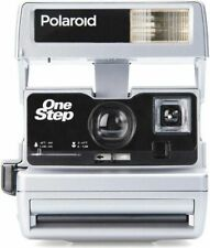 Polaroid 600 Sofortbildkamera One Step Close up silber Sonderedition refurbished