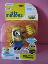 Minions Banana Munching Stuart Toy Figure New !