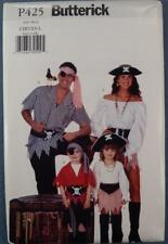 NOS Butterick Costume Pattern P425 CHD/XS-L Pirate New Old Stock