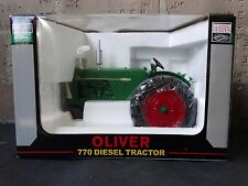 SpecCast Oliver 770 Diesel Farm Tractor 1:16 Scale Diecast Super 77 Revise Model