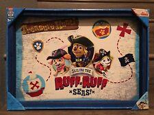 "Paw Patrol Pirate Pups Map Wood Wall Art (14""x20"")"