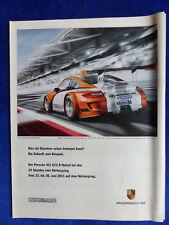 Porsche 911 GT3 R Hybrid - Werbeanzeige Reklame Advertisement 2011 __ (412