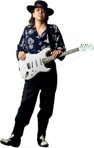 """Stevie Ray Vaughan 69"""" Tall Life Size Cardboard Cutout Standee"""