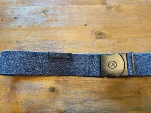 Arcade Foundation Belt - Heather Black - Stretch - Used Like New