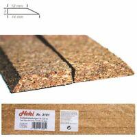 Ballast liège clair pour voie 3.60m -N 1/160- HEKI 3181