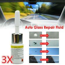 Automotive Car Window Windshield Glass Crack Chip Nano Repair Fluid Tool Kit