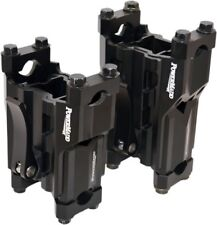 Powermadd Black 4in-6in Adjustable Pivot Riser 45591 0602-0812