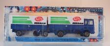 MAJORETTE 1/100 Saviem Truck & Trailer hängerzug Sernam BLU OVP #519