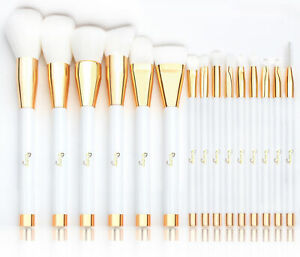 15X Kabuki Make Up Brushed Set Eyeshadow Blush Contour Powder Face Lip Eye Brush