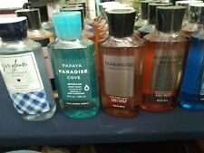 BATH & BODY WORKS SHOWER GEL - BODY WASH 10 oz  YOU CHOOSE!! Mens & Womens