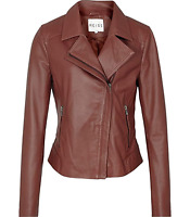 NWT Reiss Brown Palermo Stitched Panel Jacket MSRP $660 Multiple Sizes