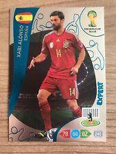 Adrenalyn XL Weltmeisterschaft 2014 Expert Karte Xabi Alonso Spanien Panini Card