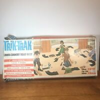 TRIANG Trik-Trak Cross Country Road Rally Vintage Collectable Game * Box Damage