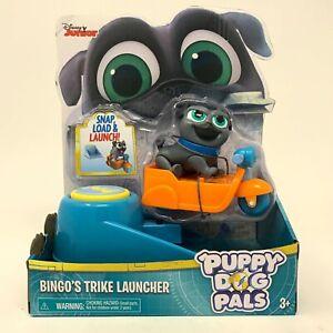 Puppy Dog Pals Figures Bingo's Trike Launcher Disney Junior Pre-School NEW