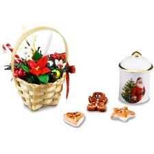 Reutter Porzellan Christmas Flower Arrangement 1.884/8 Dollhouse 1:12
