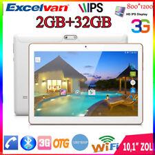 "2+32GB Excelvan 10.1"" Zoll Dual SIM WLAN 3G Tablet PC 1280*800 OTG BT IPS PAD HD"