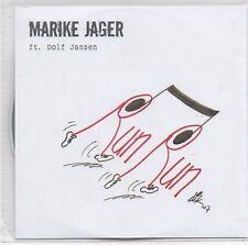 Marike Jager ft Dolf Jansen-Run Run Promo cd single