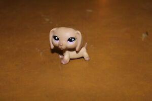 Littlest Pet Shop Dog Dachshund Weiner  Star Eyes Authentic FREE SHIPPING