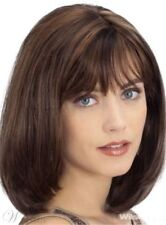 FIXSF435 Sexy Style straight dark brown short mid Hair Wigs for women wig