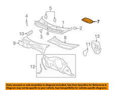 Chevrolet GM OEM 06-07 HHR Cowl-Water Deflector 25785783