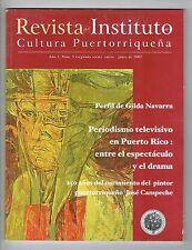 Revista Instituto De Cultura Puertorriquena Campeche Gilda Navarra Puerto Rico