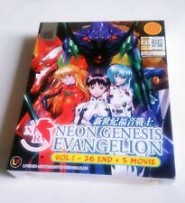NEON GENESIS EVANGELION Complete ENG TV Series Ep.1 - 26 End PLUS 5 Movies DVD