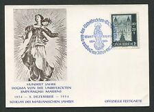 AUSTRIA MK 1954 HL. MARIA MARIENSÄULE DOM MAXIMUMKARTE MAXIMUM CARD MC d1347