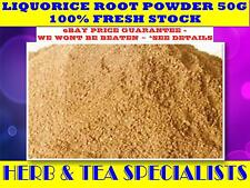 LIQUORICE ROOT POWDER 50g☆LICORICE☆Glycyrrhizaglabra☆ PREMIUM STOCK