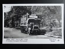 Omnibus LONDON BUS EALING ROAD NS13 ROUTE 65A Pamlin Print Postcard No.M2342