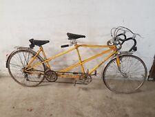 Vélo tandem bicyclette cycles GITANE vintage dans son jus à restaurer