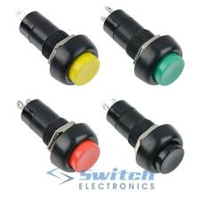 Latching or Momentary Round Push Button Switch 12mm SPST