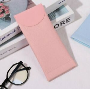 Mouth Snapped Sun Eye Glasses spectacle Case Soft Pouch Bag Pocket reading cover