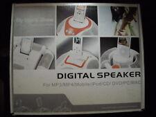 電腦配件-多媒體揚聱器: Battery Operated Digital Audio Speaker, i_pod docking