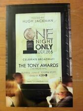 TONY AWARDS 2004 HUGH JACKMAN WICKED AVENUE Q Broadway Window Card Poster [MINT]
