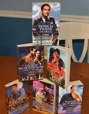 6 BOOKS RAISING $ FOR COLLEGE: MEN IN UNIFORM SERIES SILHOUETTE HARLEQUIN